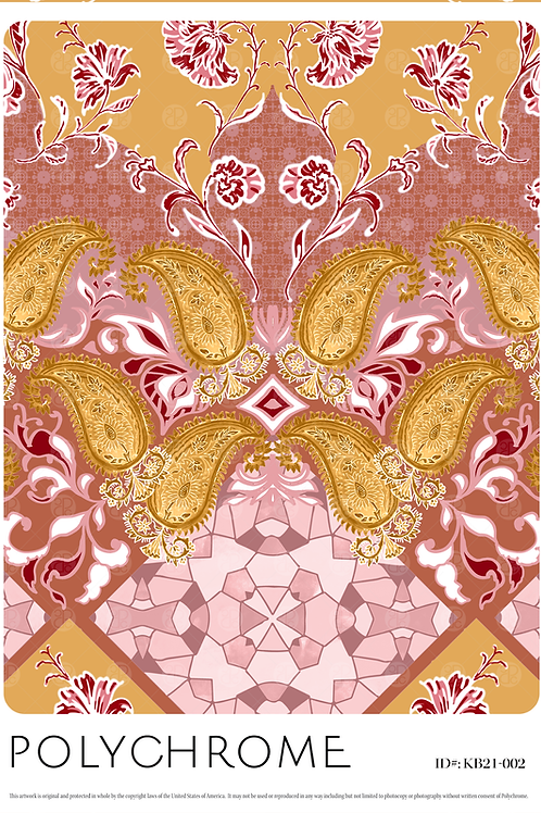 KB21-002 original print pattern