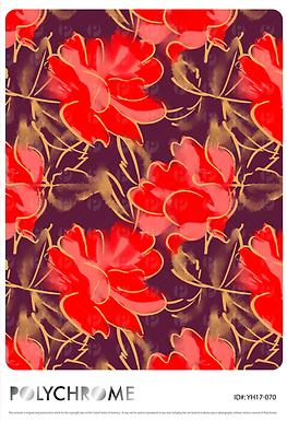 YH17-070 original print pattern