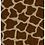 Giraffe pattern in brown and tan for fashion textiles