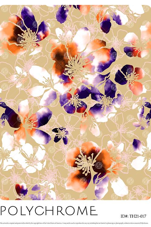 TH21-017 original print pattern
