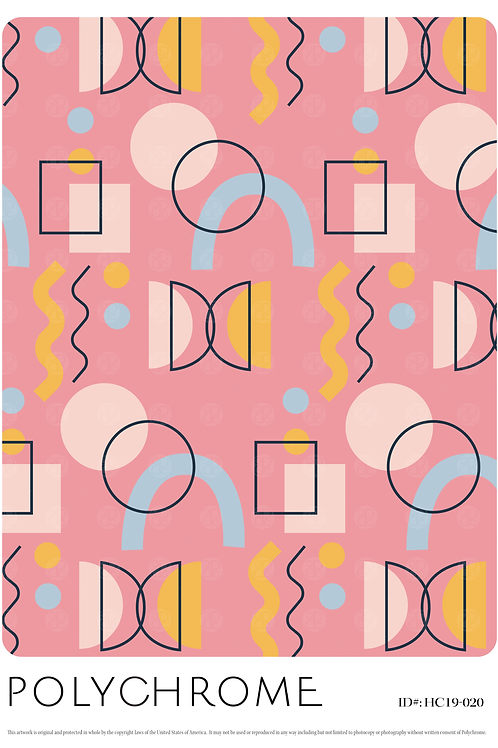 HC19-020 original print pattern