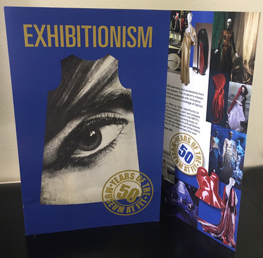 The marvelous Exhibitionism show at FIT