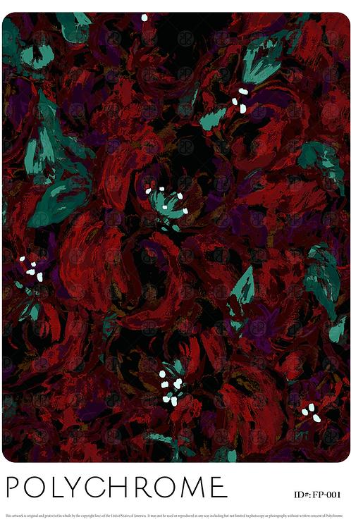 FP18-001 original print pattern