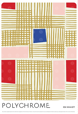 YH18-077 original print pattern