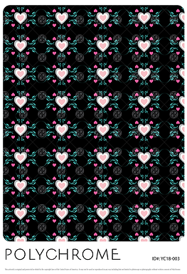 YC18-003 original print pattern