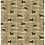 Khaki ground savannah exclusive print with gazelles for fashion textiles