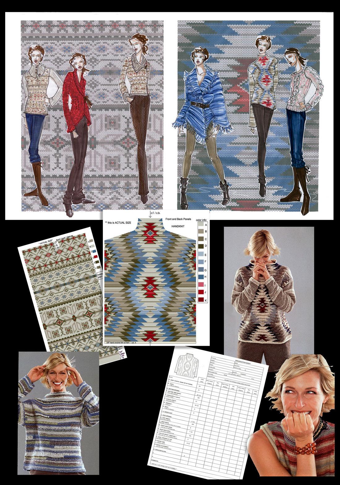 Indian Blanket SweatersRT