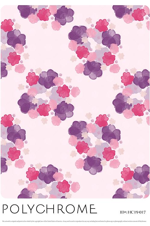 HC19-017 original print pattern