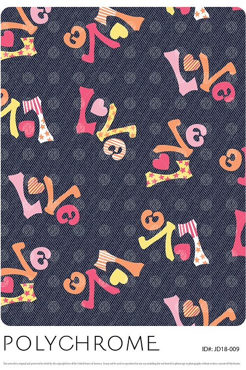 JD18-009 original print pattern