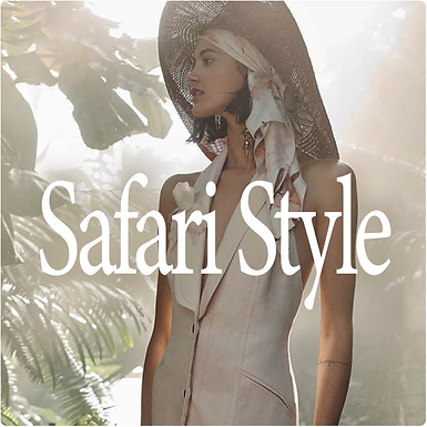 Safari Style S/S 2020 trend direction