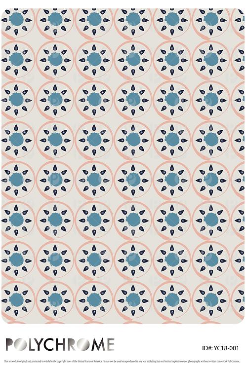 YC18-001 original print pattern