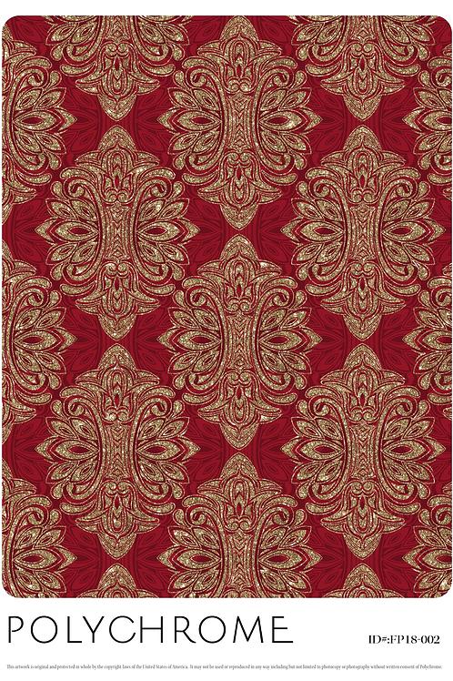 FP18-002 original print pattern