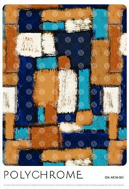 AK18-001 original print pattern