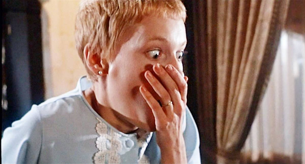 Mia Farrow as Rosemary in Rosemary's Baby