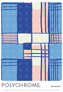 YH18-063 original print pattern