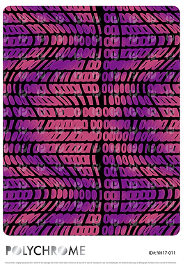 YH17-011 original print pattern