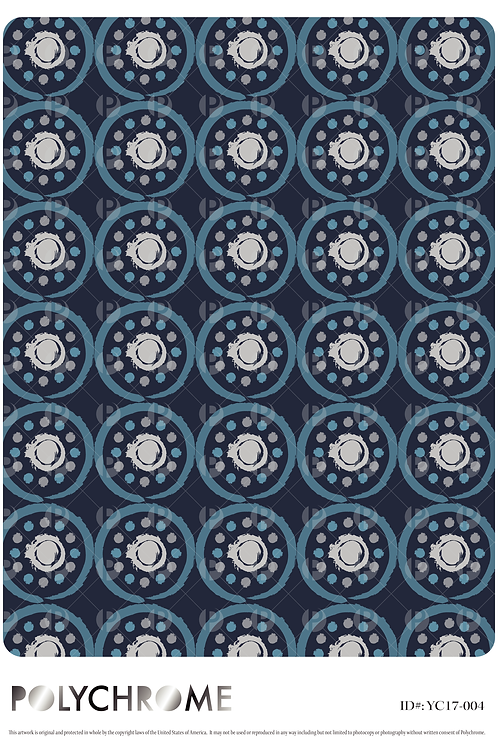 YC17-004 original print pattern