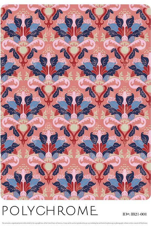 IB21-001 original print pattern