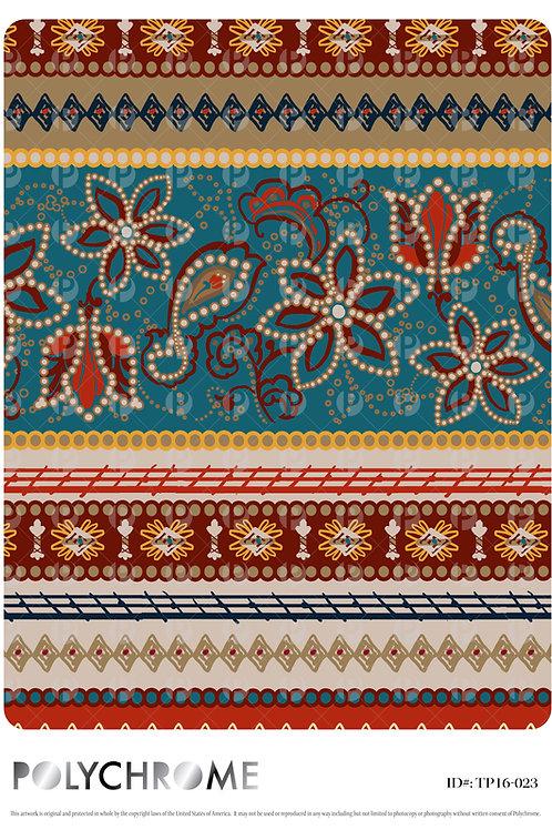 TP16-023 original print pattern