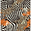 allover originalprint repeat with mixed animal skin pattern leopard zebra elephant in black and white