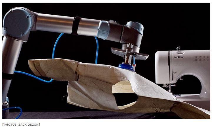 Sewbo technology allows robots to sew apparel goods