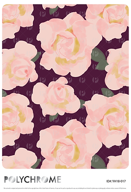 YH18-017 original print pattern