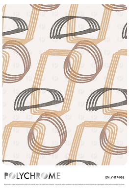 YH17-098 original print pattern