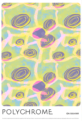 YH18-049 original print pattern