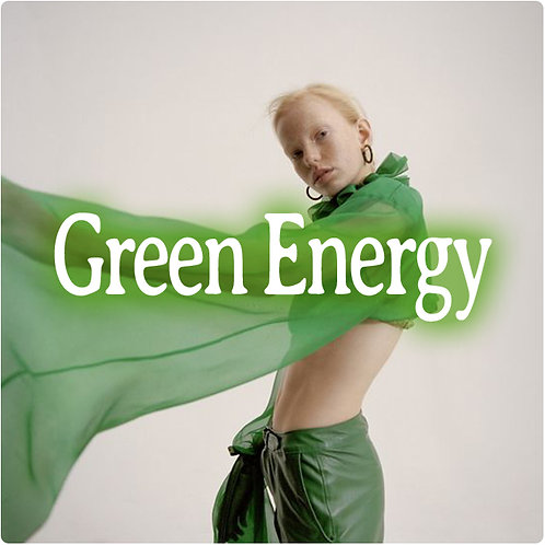 Green Energy S/S 2021 womenswear trend direction