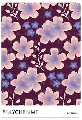 YH18-011 original print pattern