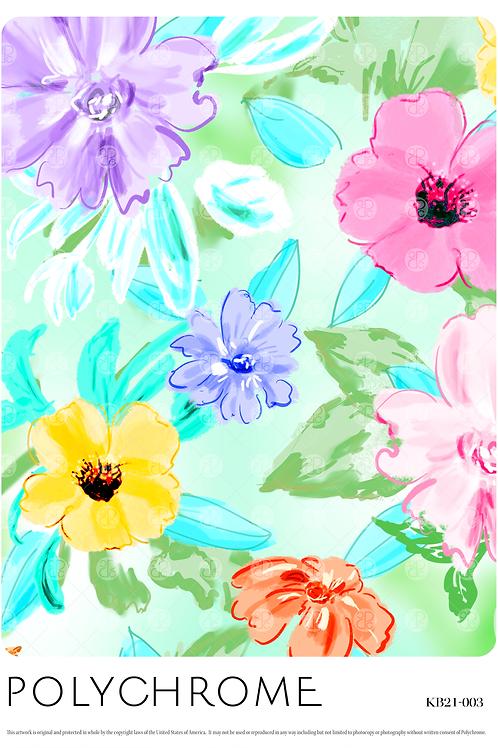 KB21-003 original print pattern