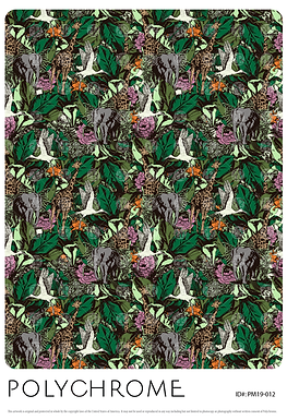 PM19-012 original print pattern
