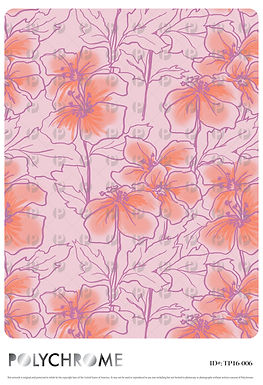 TP16-006 original print pattern