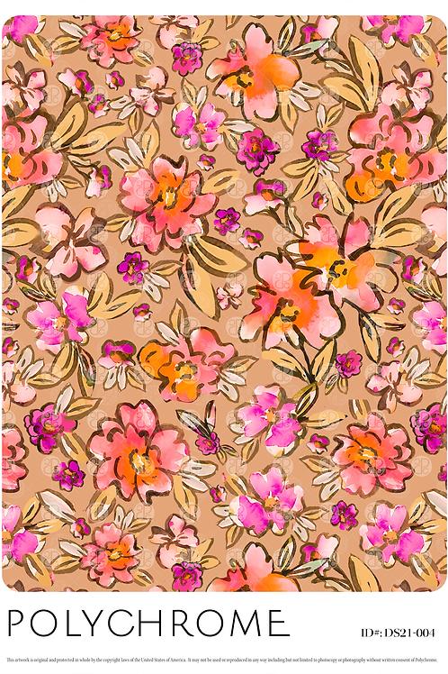 DS21-012 original print pattern