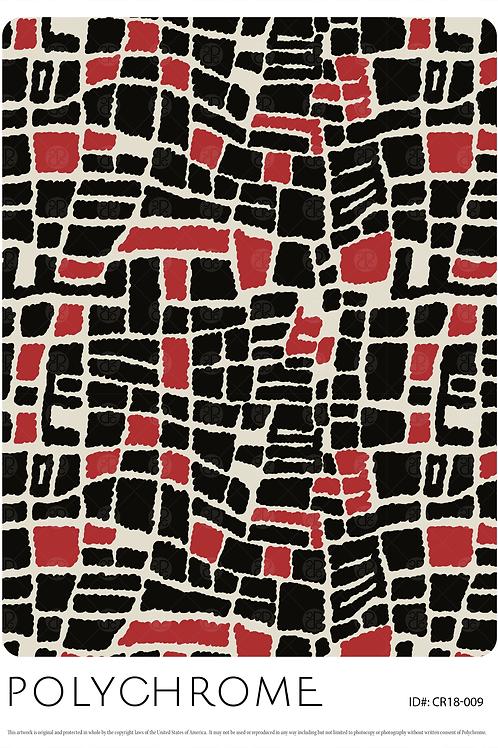 CR18-009 original print pattern