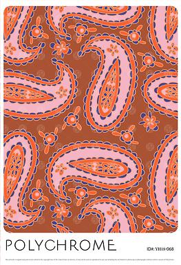 YH18-068 original print pattern