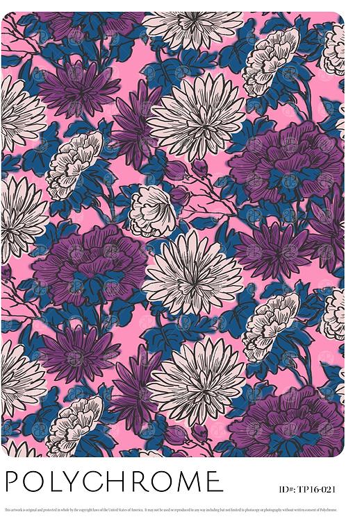 TP16-021 original print pattern