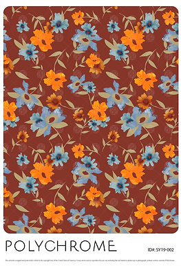 SL19-002 original print pattern