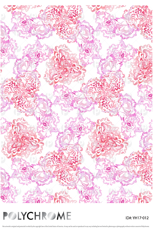YH17-013 original print pattern