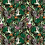 Exclusive print pattern for fashion textiles with African animals and foliage
