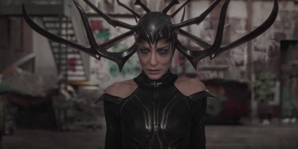 Cate Blanchett as Hela in Thor Ragnarok