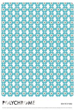 YC17-002 original print pattern