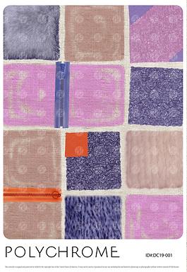 DC19-001 original print pattern