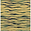 Tiger stripe hand-drawn animal stripe pattern in tan and black