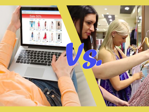 Online Shopping vs In-person Shopping