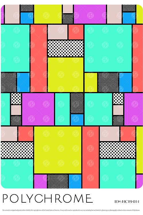 HC19-014 original print pattern