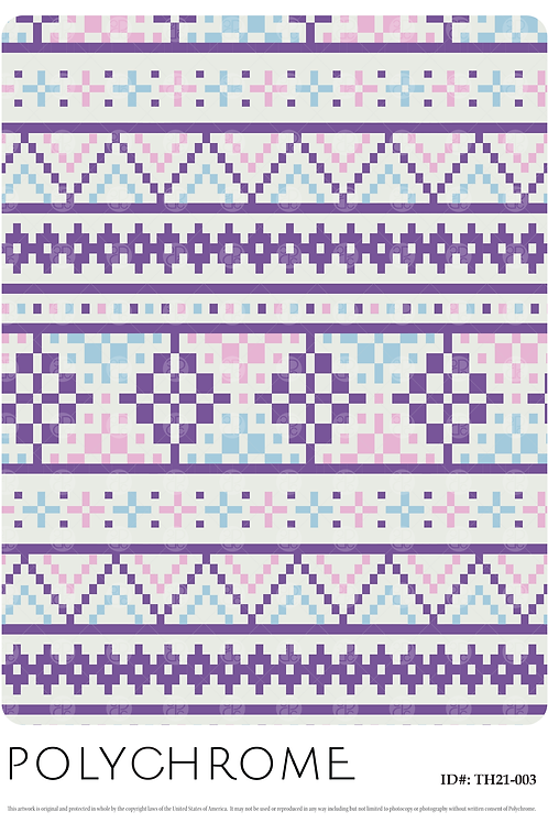 TH21-003 original print pattern