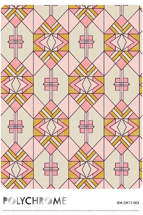 DK17-003 original print pattern