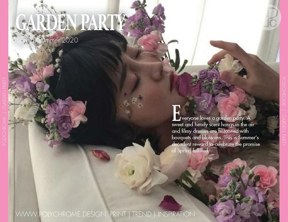 Garden Party Spring/ Summer 2020 fashion trend forecast