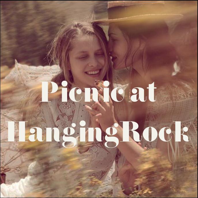 Spring Summer 2019 fashion Trend Picnic at Hanging Rock